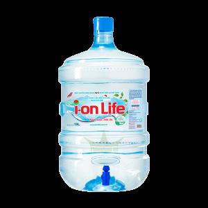 Nước Ion Life 19 lít Bình vòi