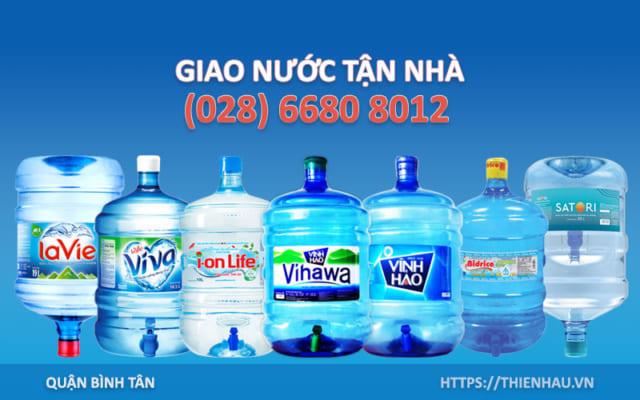 Đại lý nước uống Bình Tân