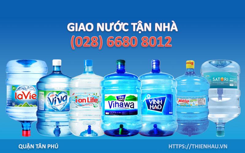 Đại lý nước uống Tân Phú