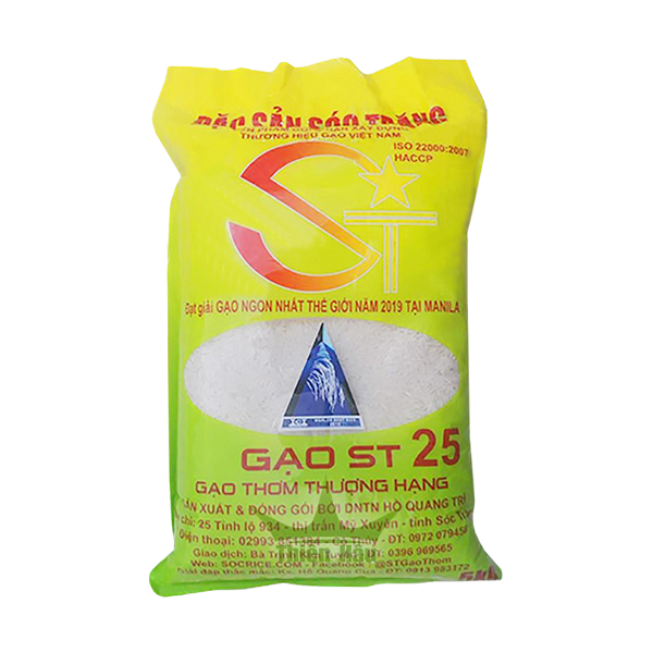 Gạo ST25 của DNTN Hồ Quang Trí
